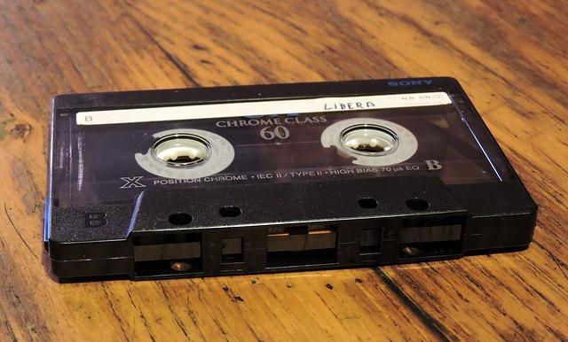 audio kazeta