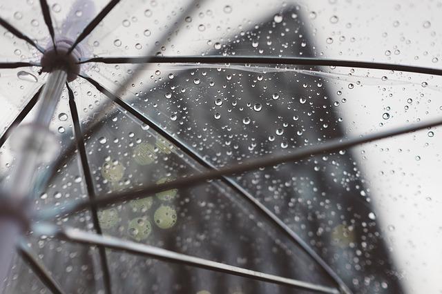 rozevřený deštník
