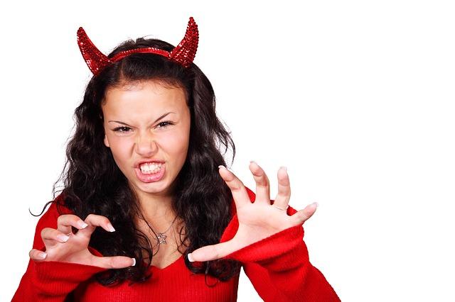 agresivní démon