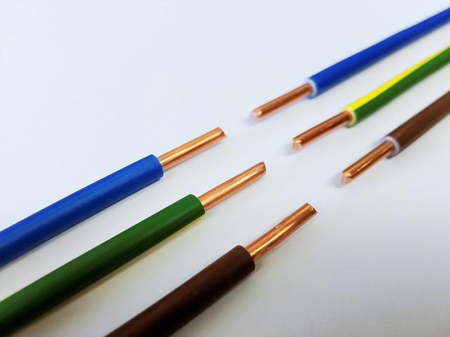 barevné kabely