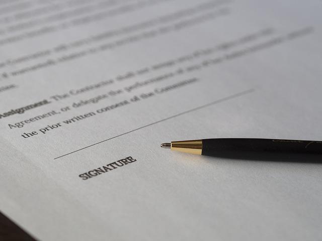 signace dokumentu