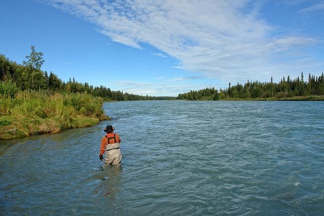 rybaření na Aljašce