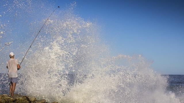 bouřlivá voda