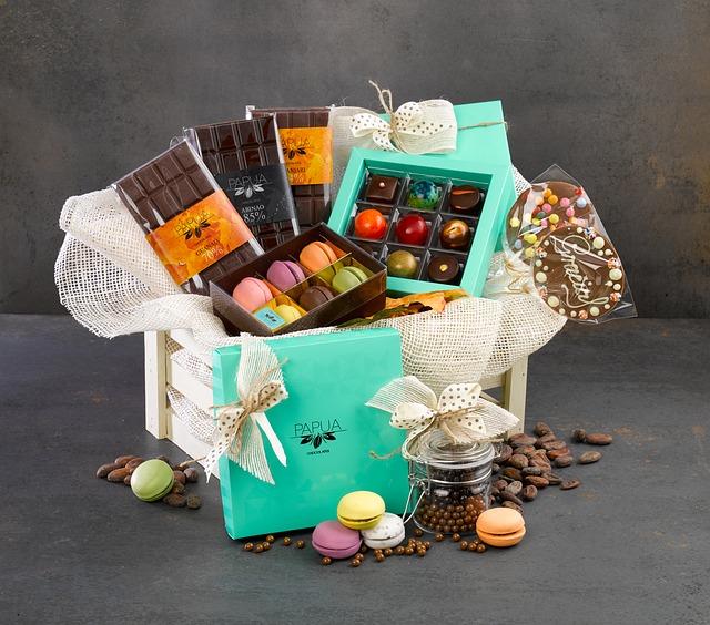 dárkové čokoládky