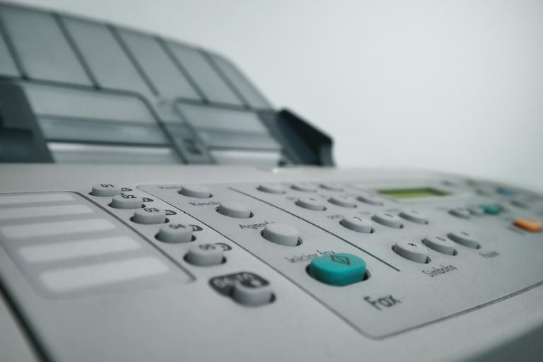 panel tiskárny
